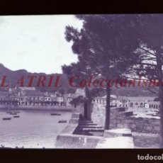 Postales: BAYONA, PONTEVEDRA CLICHE ORIGINAL NEGATIVO EN CELULOIDE AÑOS 1910-20 - FOTOTIP. THOMAS, BARCELONA. Lote 268269934