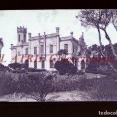 Postales: BAYONA, PONTEVEDRA CLICHE ORIGINAL NEGATIVO EN CELULOIDE AÑOS 1910-20 - FOTOTIP. THOMAS, BARCELONA. Lote 268270184