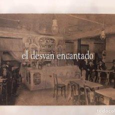 Postales: EL CANTABRICO. ANTIGUO FERROLANO. GRAN BAR RESTAURANT JOSE VALLE. VIGO. POSTAL H. 1915. Lote 268610044