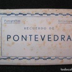 Postales: PONTEVEDRA-BLOC CON 10 POSTALES ANTIGUAS-EDICIONES ARRIBAS-VER FOTOS-(81.610). Lote 268763204