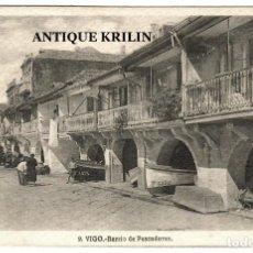 Postales: VIGO Nº 9 BARRIO DE PESCADORES / FOTO L. ROISIN. Lote 268842814
