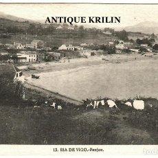 Postales: RIA DE VIGO Nº 13 PANJON / FOTO L. ROISIN. Lote 268884624