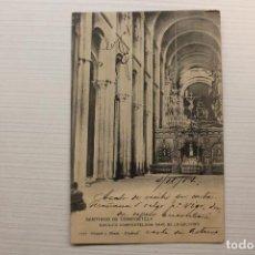 Postales: POSTAL SANTIAGO DE COMPOSTELA, BASÍLICA COMPOSTELANA, NAVE DE LA SOLEDAD, HAUSER. Lote 268937824