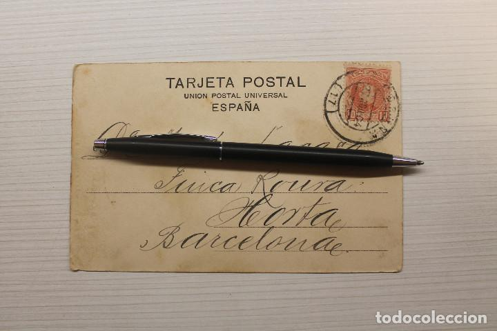 Postales: POSTAL LA CORUÑA, LA VOZ DE GALICIA, FOT. DE BELLO, LIBRERÍA DE LINO PÉREZ - Foto 2 - 268938479