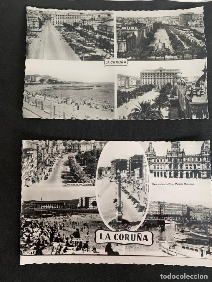 LA CORUÑA - LOTE DE 15 POSTALES - ED. ARRIBAS (Postales - España - Galicia Antigua (hasta 1939))