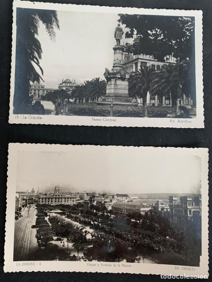 Postales: LA CORUÑA - LOTE DE 15 POSTALES - ED. ARRIBAS - Foto 2 - 268941719