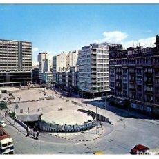 Postales: CORUÑA. PL. PONTEVEDRA. ED. ALARDE Nº 2 (1971). APARCAMIENTO, COCHES, TROLEBÚS.. Lote 269501663