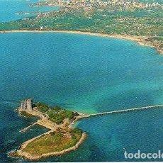 Postales: VIGO - 3613 ISLA DE TORALLA Y PLAYA DEL BAO Y SAMIL. Lote 270349723