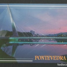 Postales: POSTAL SIN CIRCULAR PONTEVEDRA 125 PUENTE DE LOS TIRANTES EDITA ARRIBAS. Lote 270415843