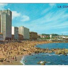 Postales: LA CORUÑA (ESPAÑA) - PLAYA DE RIAZOR - CIRCULADA. Lote 274644393