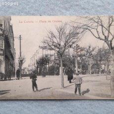 Postales: LA CORUÑA. PLAZA DE ORENSE.. Lote 275038198
