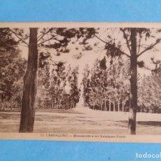 Postales: CARBALLINO. OURENSE. MONUMENTO A LOS HERMANOS PRIETO. Lote 275281623