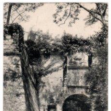 Postales: BONITA POSTAL - BAYONA (GALICIA) - PUERTA PRINCIPAL DEL CASTILLO DE MONTE REAL - PROP. JUAN CARRASCO. Lote 275451563