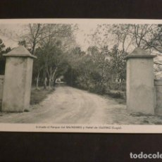 Postales: GUITIRIZ LUGO BALNEARIO ENTRADA AL PARQUE. Lote 275849563