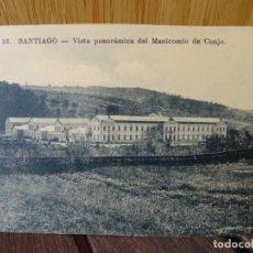 Postales: VISTA PANORÁMICA DEL MANICOMIO DE CONJO. SANTIAGO. 16.. Lote 276927168