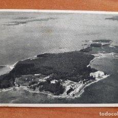 Postales: POSTAL DE LA ISLA DE LA TOJA - VISTA GENERAL. Lote 276995958