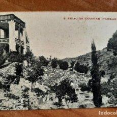 Postales: POSTAL DE S. FELIU DE CODINAS - PARQUE USART. Lote 276996168