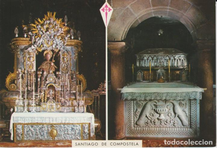 (45) SANTIAGO DE COMPOSTELA. SEPULCRO DEL APOSTOL ... SIN CIRCULAR (Postales - España - Galicia Moderna (desde 1940))