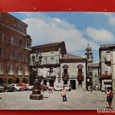 Cartes Postales: VIGO PLAZA CONSTITUCION ED ALARDE 24 SC DORSO SOBADO COCHES CLASICOS ANIMADA. Lote 277217733