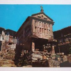 Postales: COMBARRO - HÓRREO JUNTO AL MAR - LAXC - P57387. Lote 277645273