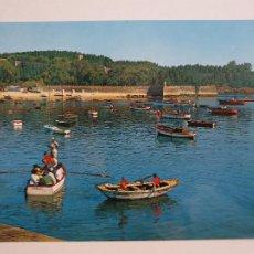 Postales: BAIONA / BAYONA - PUERTO - CASTILLO DE MONTERREAL - LAXC - P57396. Lote 277645823