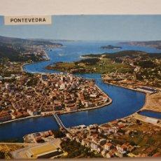 Postales: PONTEVEDRA - VISTA AÉREA - LAXC - P57451. Lote 277663288