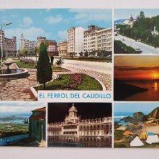 Postales: FERROL - VISTAS - LAXC - P57669. Lote 277738433