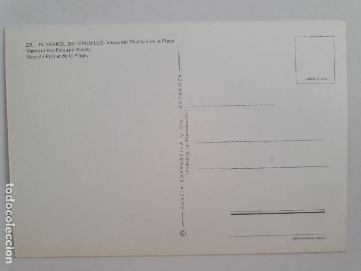 Postales: FERROL - VISTAS - LAXC - P57671 - Foto 2 - 277738478