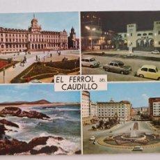 Postales: FERROL - VISTAS - LAXC - P57672. Lote 277738533