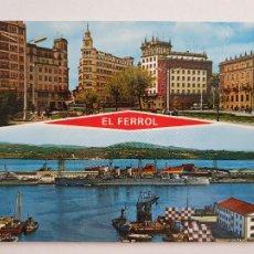 Postales: FERROL - VISTAS - LAXC - P57674. Lote 277738633