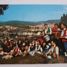 Cartes Postales: OURENSE / ORENSE - GRUPO FOLKLÓRICO Y VISTA PARCIAL - LAXC - P57773. Lote 277833928
