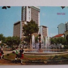 Cartes Postales: OURENSE / ORENSE - PARQUE DE SAN LÁZARO - FUENTE LUMINOSA Y TORRE - LAXC - P57791. Lote 277835213