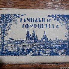 Postales: LOTE 12 POSTALES SANTIAGO DE COMPOSTELA. Lote 278633028