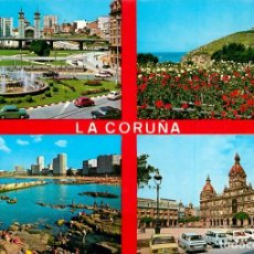 Postales: EM1786 LA CORUÑA 1972 ARRIBAS Nº138 COCHES. Lote 278675283