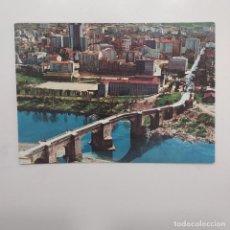 Postales: POSTAL ORENSE. PUENTE ROMANO SOBRE EL RIO MIÑO (OURENSE) ESCRITA. Nº 35 EDICIÓN LA REGION. Lote 279554673