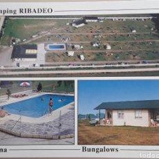 Cartes Postales: POSTAL CAMPING RIBADEO ( LUGO). Lote 286789833