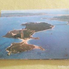 Postales: LA TOJA -ISLA DE ENSUEÑO. VISTA AÉREA- (EDICIONES ALARDE Nº 479) SIN CIRCULAR. Lote 286844553