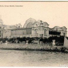 Cartes Postales: BONITA POSTAL - LA TOJA (PONTEVEDRA) - ISLA Y BALNEARIO - GRAN HOTEL - COMEDOR. Lote 287027893