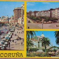 Postales: POSTAL DE LA CORUÑA, LOS CANTONES AÑO 1969, SIN CIRCULAR // GALICIA TORRE HÉRCULES RIAZOR ORZÁN LUGO. Lote 287028338