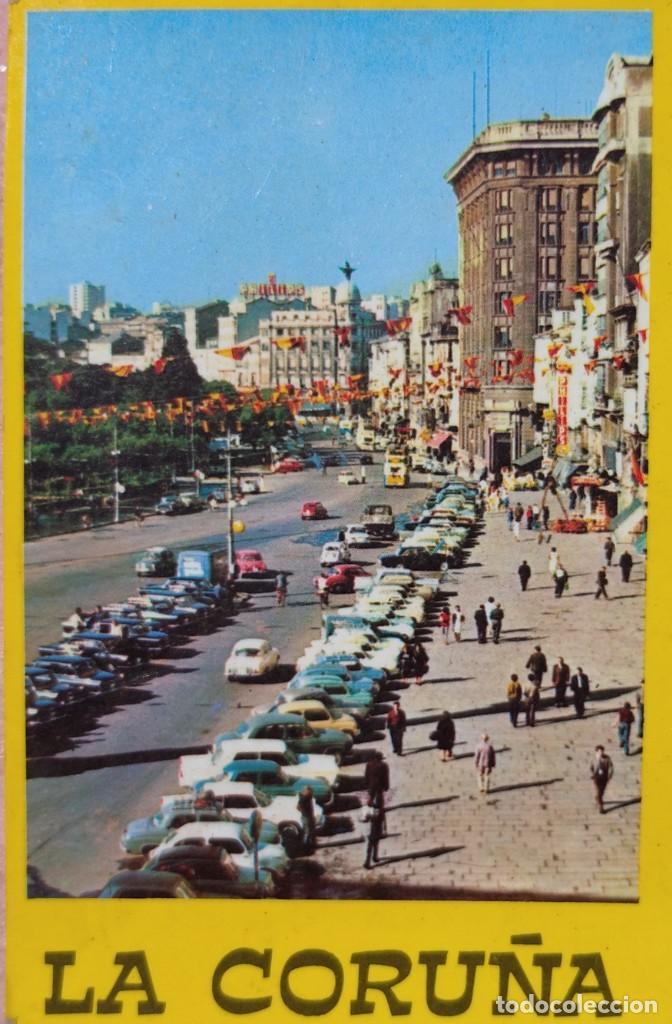 Postales: Postal de La Coruña, Los Cantones Año 1969, Sin Circular // GALICIA TORRE HÉRCULES RIAZOR ORZÁN LUGO - Foto 3 - 287028338