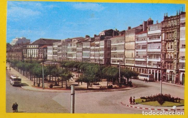 Postales: Postal de La Coruña, Los Cantones Año 1969, Sin Circular // GALICIA TORRE HÉRCULES RIAZOR ORZÁN LUGO - Foto 4 - 287028338