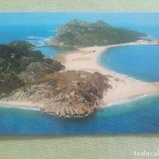 Postales: VIGO 10 POSTALES IGUALES ISLAS CIES EDITADA FAMA Nº 3336 APROX 1980 S/C. Lote 287136148