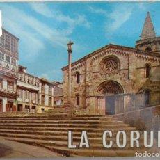 Postales: ANTIGUO MAZO DE POSTALES DE LA CORUÑA, AÑOS '60 // GALICIA TORRE HÉRCULES RIAZOR SANTIAGO COMPOSTELA. Lote 287147953