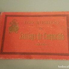 Postais: SANTIAGO DE COMPOSTELA CUADERNILLO DIFERENTES VISTAS 13 X 9 CTMS. Lote 287385243