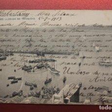 Postales: POSTAL VIGO, LLEGADA DE TRAINERAS, HAUSER. Lote 287603473