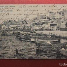 Postales: POSTAL VIGO, RIBERA DEL BERBÉS, HAUSER. Lote 287603628