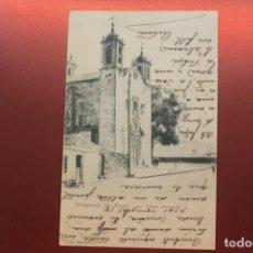 Postales: POSTAL VILLAGARCÍA DE AROSA, IGLESIA PARROQUIAL, FOT. MARTÍNEZ. Lote 287604278