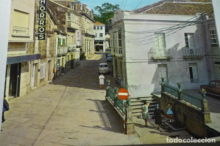 POSTAL CALDAS DE REYES.-FUENTE TERMAL EL BURGA (Postales - España - Galicia Moderna (desde 1940))