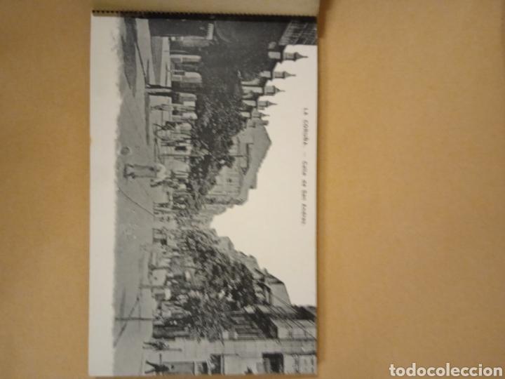 Postales: Librito librillo de antiguas postales de la Coruña - Foto 2 - 287958498
