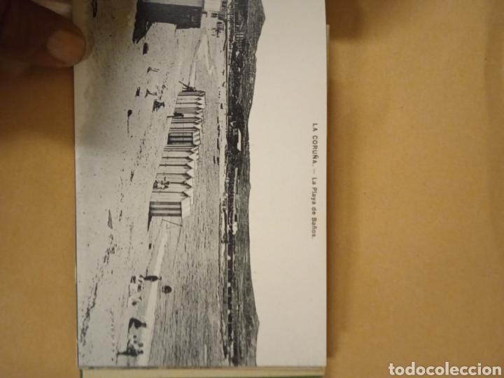 Postales: Librito librillo de antiguas postales de la Coruña - Foto 8 - 287958498